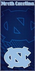 Northwest NCAA North Carolina Beach Towel