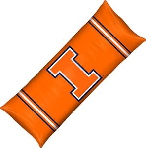 Northwest NCAA Univ. of Illinois Body Pillow
