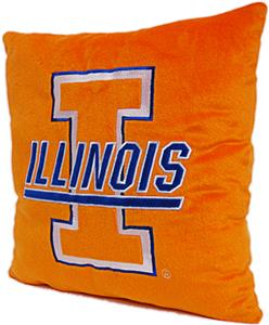 Northwest NCAA University of Illinois Plush Pillow