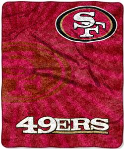 Northwest NFL San Francisco 49ers Strobe Throws