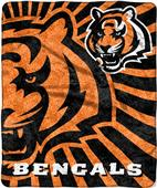 Northwest NFL Bengals Strobe Sherpa Throw