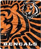 Northwest NFL Bengals Strobe Sherpa Throw