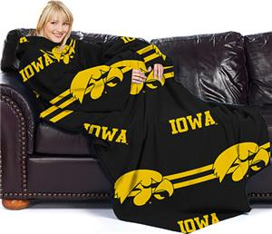 Northwest NCAA Iowa Comfy Throw (Stripes)