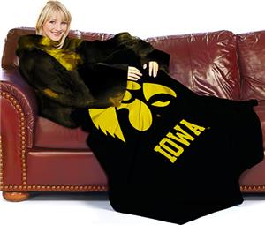 Northwest NCAA Iowa Comfy Throw (Smoke)