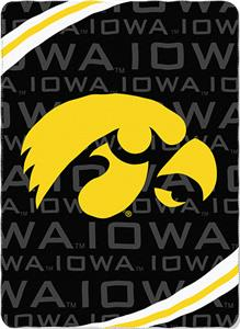 Northwest NCAA Univ. of Iowa Fleece Force Throw