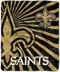 Northwest NFL New Orleans Saints Strobe Throws