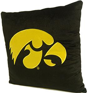 Northwest NCAA University of Iowa Plush Pillow