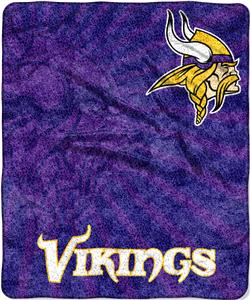Northwest NFL Vikings Strobe Sherpa Throws