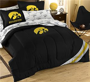 Northwest NCAA Univ. of Iowa Full Bed in Bag Set