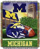 Northwest NCAA Michigan HFA Tapestry Throw