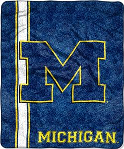 Northwest NCAA Michigan Jersey Sherpa Throw