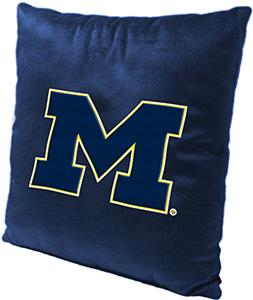 Northwest NCAA University of Michigan Plush Pillow