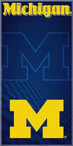 Northwest NCAA Univ. of Michigan Beach Towel