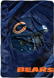 "Northwest NFL Chicago Bears 62""x90"" Throws"