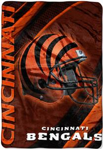 "Northwest NFL Cincinnati Bengals 62""x90"" Throws"