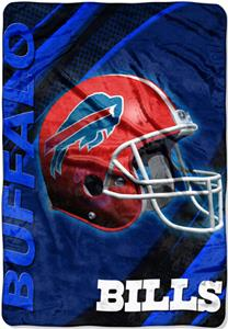 "Northwest NFL Buffalo Bills 62""x90"" Throws"