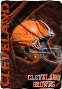 "Northwest NFL Cleveland Browns 62""x90"" Throws"