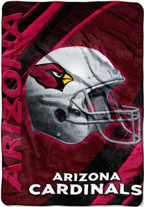 "Northwest NFL Arizona Cardinals 62""x90"" Throws"