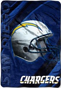 "Northwest NFL San Diego Chargers 62""x90"" Throws"