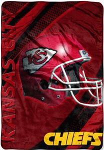 "Northwest NFL Kansas City Chiefs 62""x90"" Throws"