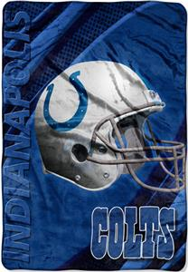 "Northwest NFL Indianapolis Colts 62""x90"" Throws"