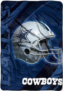 """Northwest NFL Dallas Cowboys 62""""x90"""" Throws"""