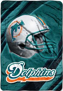"Northwest NFL Miami Dolphins 62""x90"" Throws"