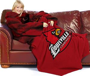 Northwest NCAA Louisville Comfy Throw (Smoke)