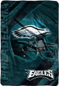 "Northwest NFL Philadelphia Eagles 62""x90"" Throws"