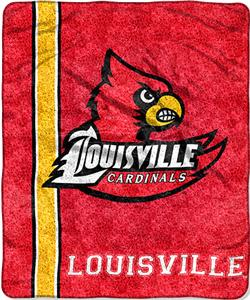 Northwest NCAA Louisville Jersey Sherpa Throw