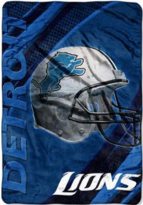 "Northwest NFL Detroit Lions 62""x90"" Throws"