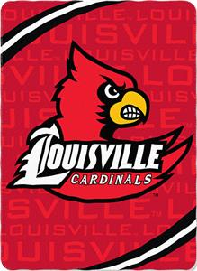 Northwest NCAA Louisville Fleece Force Throw