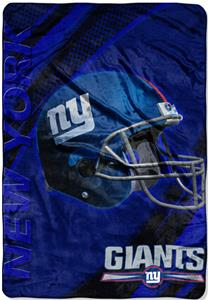 Northwest NFL New York Giants 62&quot;x90&quot; Throws