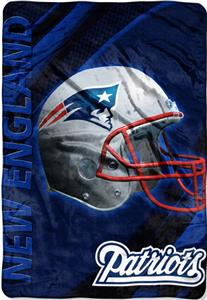 Northwest NFL New England Patriots 62&quot;x90&quot; Throws