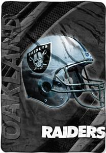 "Northwest NFL Oakland Raiders 62""x90"" Throws"
