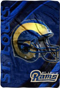 "Northwest NFL St. Louis Rams 62""x90"" Throws"