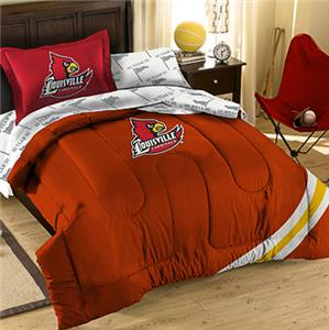 Northwest NCAA Louisville Twin Bed in Bag Set