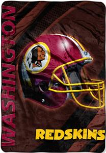 "Northwest NFL Washington Redskins 62""x90"" Throws"