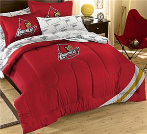 Northwest NCAA Louisville Full Bed in Bag Set
