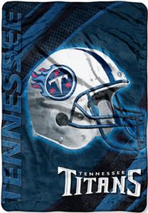 "Northwest NFL Tennessee Titans 62""x90"" Throws"
