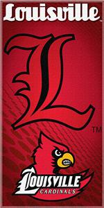 Northwest NCAA Univ. of Louisville Beach Towel