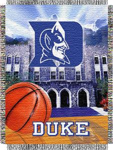 Northwest NCAA Duke University HFA Tapestry Throw