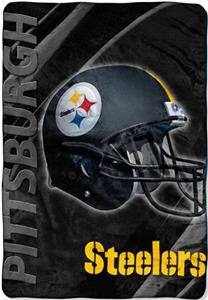 "Northwest NFL Pittsburgh Steelers 62""x90"" Throws"