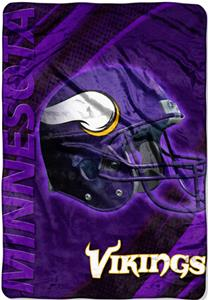 Northwest NFL Minnesota Vikings 62&quot;x90&quot; Throws