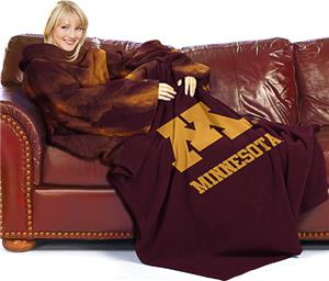 Northwest NCAA Minnesota Univ. Comfy Throw (Smoke)