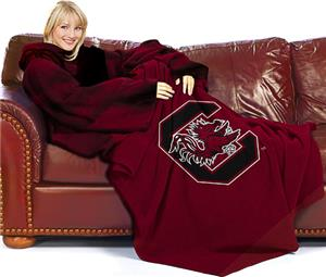Northwest NCAA South Carolina Comfy Throw (Smoke)