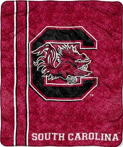 Northwest NCAA South Carolina Jersey Sherpa Throw