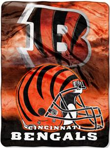 "Northwest NFL Cincinnati Bengals 60""x80"" Throws"