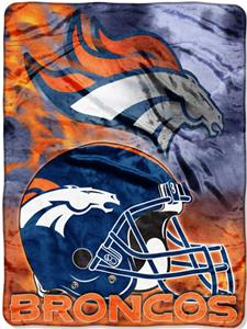 "Northwest NFL Denver Broncos 60""x80"" Throws"
