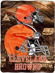 "Northwest NFL Cleveland Browns 60""x80"" Throws"